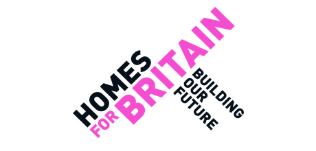 Homes for britain logo homepage listing