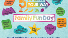 Family fun day flyer png listing