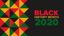 Black history month 2020 listing